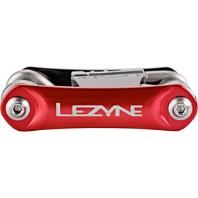 Lezyne RAP-14 Multifunction Tools red/black